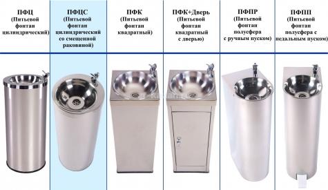 Питьевой фонтанчик АКВА-Лоджик ПФЦС
