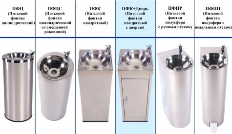 Питьевой фонтанчик АКВА-Лоджик ПФК+ дверь