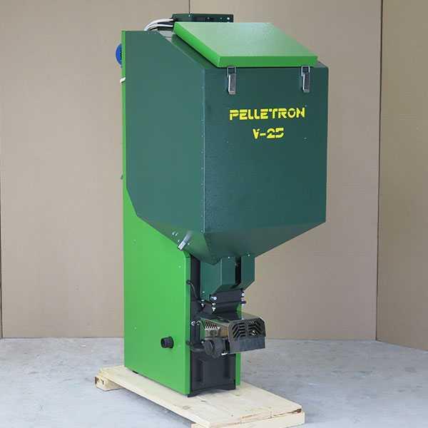 Автоматический пеллетный котел Пеллетрон V-25
