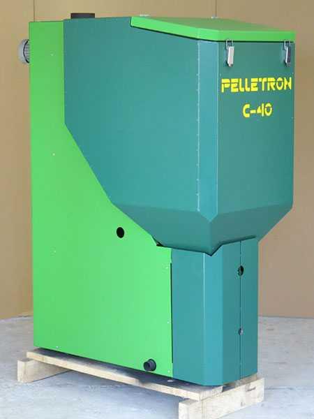 Полуавтоматический пеллетный котел Пеллетрон С-40