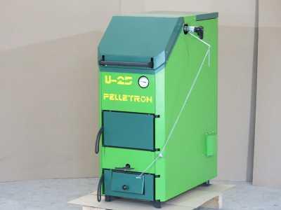Универсальный шахтный водогрейный котел Пеллетрон U-35_2