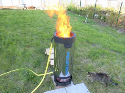 Дровяной водонагреватель для бассейна Пеллетрон D-40_1