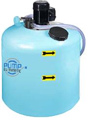 Универсальная установка для чистки теплообменников PUMP ELIMINATE® 190 DISINCROSTANTE V4V