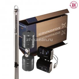Комплект для поддержания постоянного давления с насосом Grundfos SQE 2-85